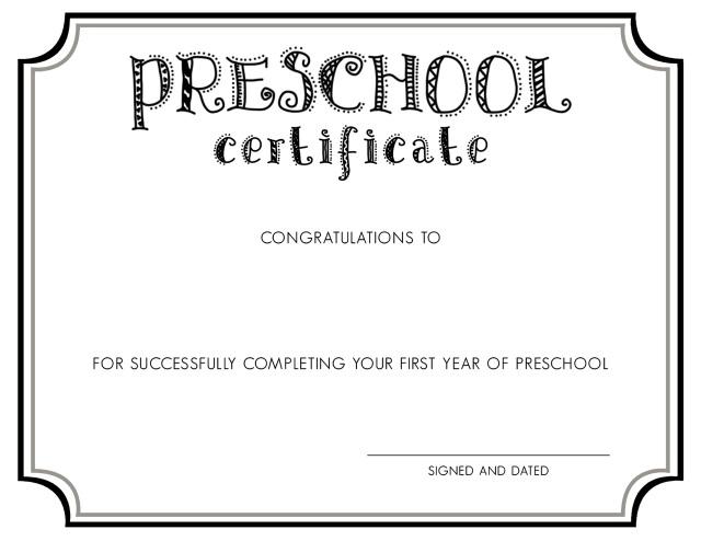 Preschool Graduation Invitations Templates with adorable invitations layout
